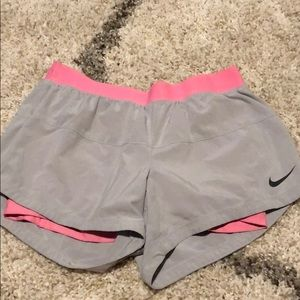Nike Dri-fit shorts with built in spandex